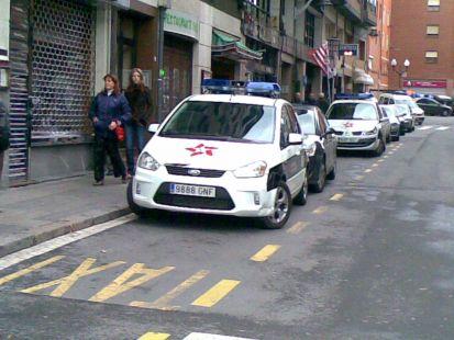 Nuevos taxis de Bilbao..