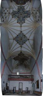 Pinceladuras del XVI de la iglesia de Ziriano