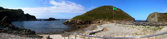 Playa de Pormenande El Franco (Asturias)