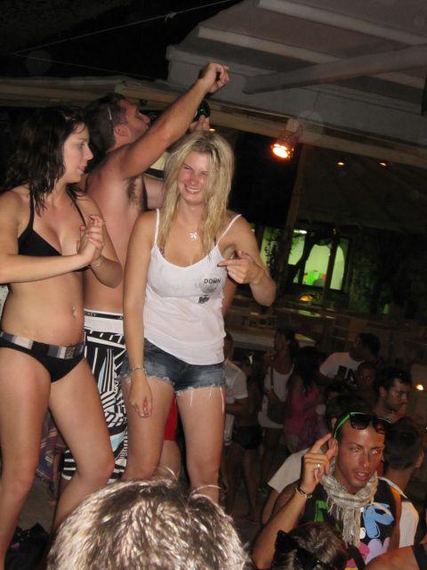 De fiesta en Mykonos (Grecia)