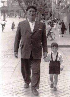 Abuelo José y Tomasín