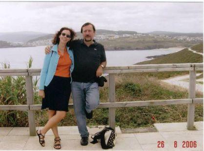 Bichiña y primo en Malpica