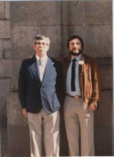 Tío Benigno y sobrino  Tomasín