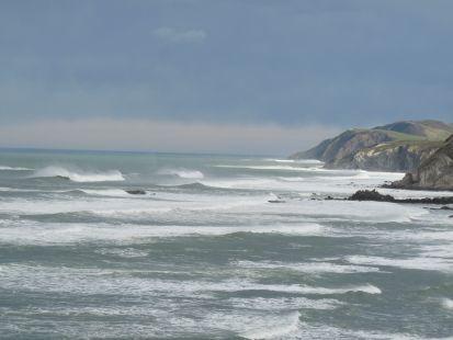 temporal en la costa