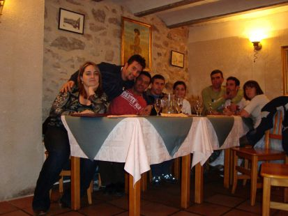 cena restaurante Zarate
