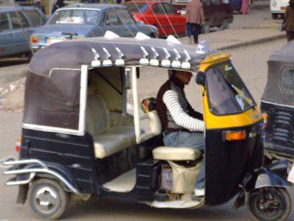 taxi en el cairo