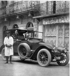 Marques del Puerto en 1919