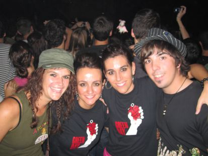 Concierto Green Day Barcelona 2009