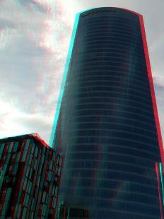 La Torre 3D-Anochecer-Anaglifo-(gafas rojoazul)
