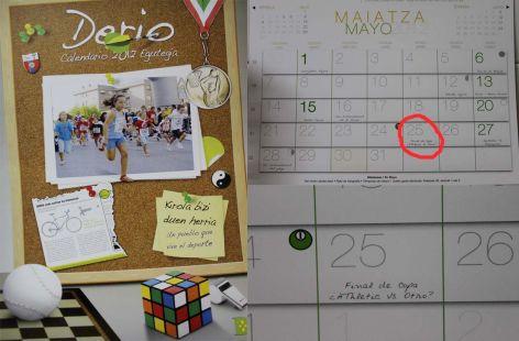 Calendario Derio Copa del Rey