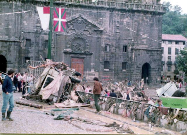 Inundaciones Bilbao 1983