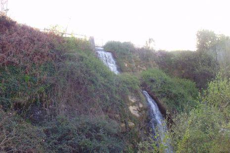 cascada natural,en Ortuella