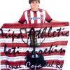 Aritz Ruiz con el Athletic