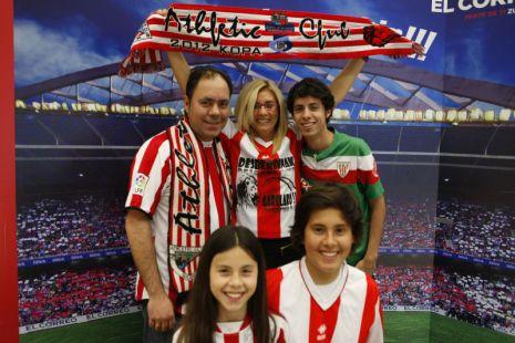 Jose, Amaia, Jose, David y Laura, seguros de la victoria