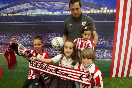 ¡Aupa Athletic!, gritan Jon, Mariana, Jon Mikel, Alba e Íñigo