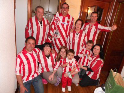 Una familia rojiblanca