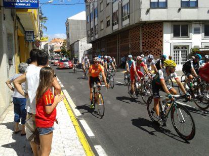 vuelta a España en Galicia
