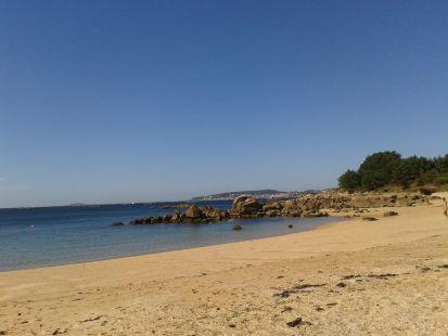 plya de la illa A Coruña