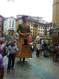 Gigantes en Lo Viejo de Bilbao