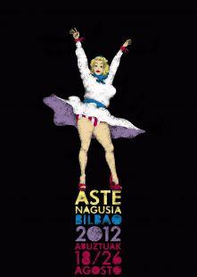Cartel de fiestas de Bilbao 2012