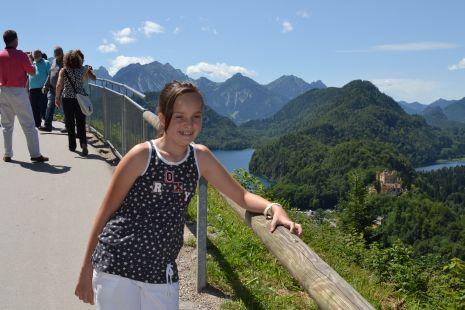 Maider en los Alpes