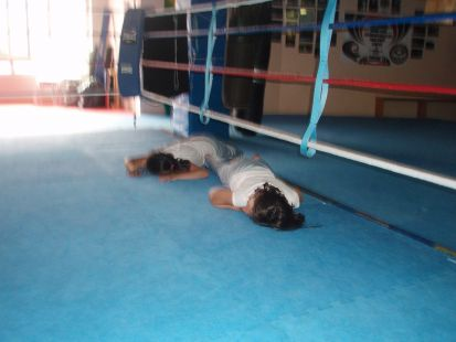 clase de boxeo