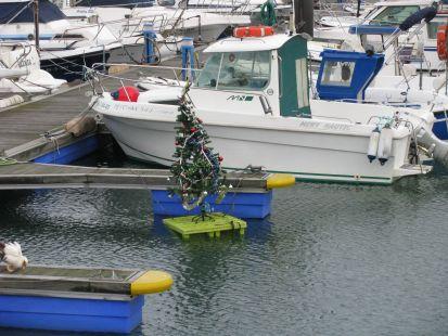 Navidad en el mar