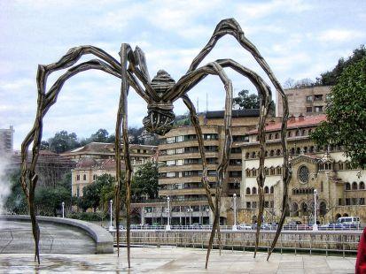 Araña en Museo Guggenhein