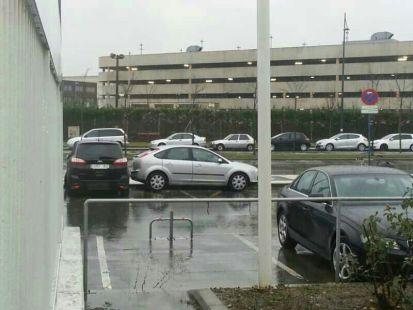 Multando mal aparcados