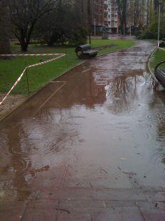 inundación en la florida