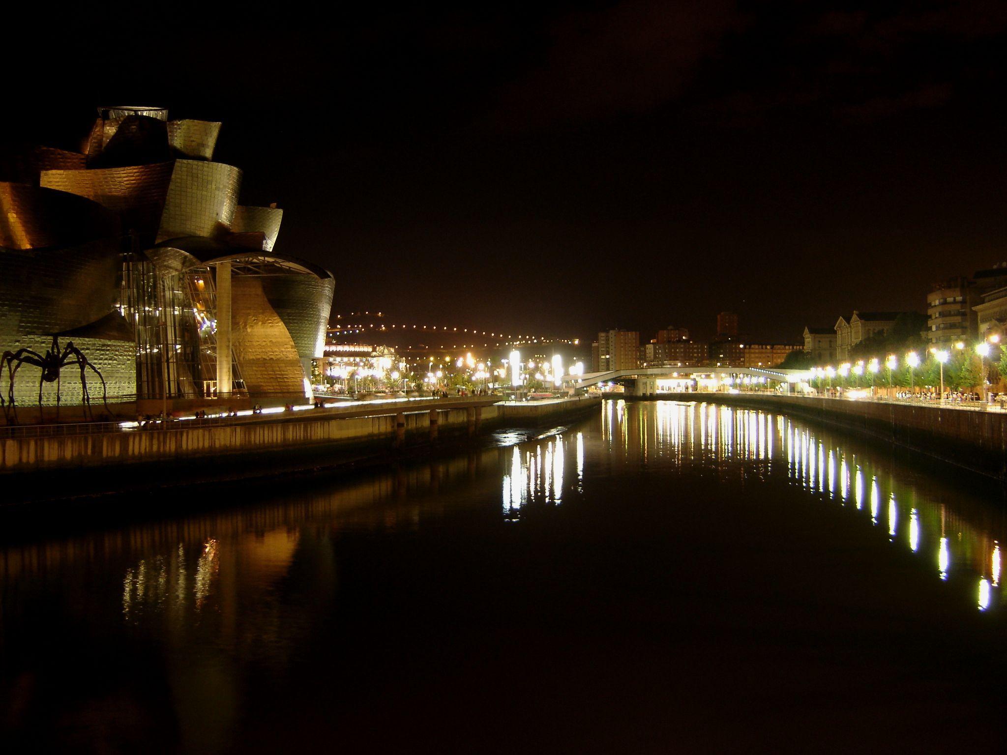Bilbao nocturno fotos de fotos de bilbao - Iluminacion bilbao ...