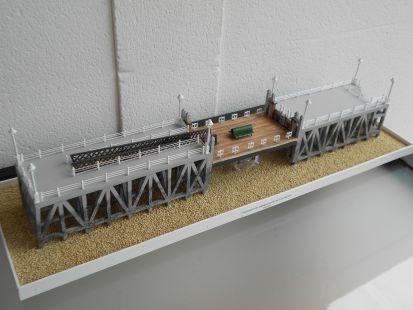 flotante del embarcadero de Las Arenas