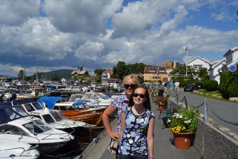 Ana y Maider en Noruega