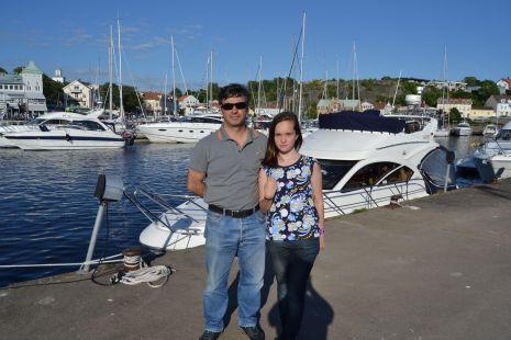 Inda y Maider en Noruega