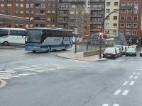Autobus averiado en Termibus