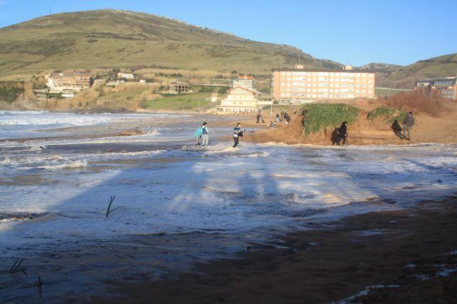 Playa Muskiz, 16-02-2014